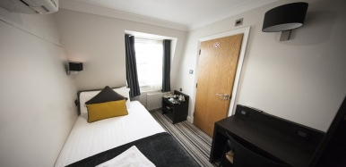 Single room at St Georges Inn Victoria
